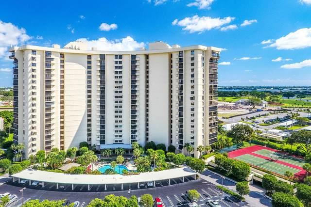 2450 Presidential Way #1805, West Palm Beach, FL 33401 (MLS #RX-10662495) :: Berkshire Hathaway HomeServices EWM Realty