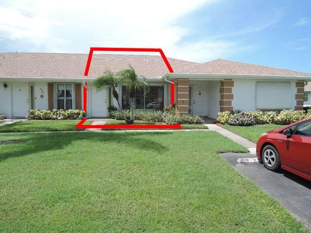 1210 S Lakes End Drive Apt C, Fort Pierce, FL 34982 (MLS #RX-10662522) :: Berkshire Hathaway HomeServices EWM Realty
