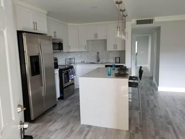 397 Normandy I, Delray Beach, FL 33484 (MLS #RX-10662589) :: Berkshire Hathaway HomeServices EWM Realty