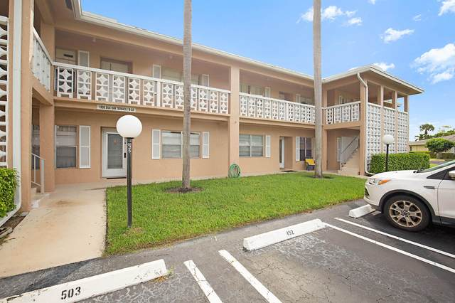 1030 Silk Oak Terrace #203, Delray Beach, FL 33445 (#RX-10662939) :: Realty One Group ENGAGE