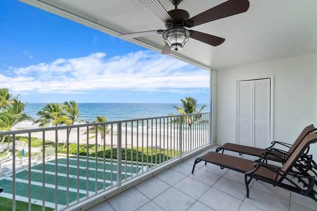 3101 S Ocean Boulevard #402, Highland Beach, FL 33487 (#RX-10663097) :: The Power of 2 Group | Century 21 Tenace Realty