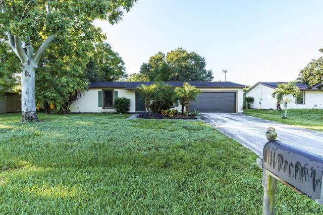 722 SW Dolores Avenue, Port Saint Lucie, FL 34983 (MLS #RX-10663116) :: Berkshire Hathaway HomeServices EWM Realty
