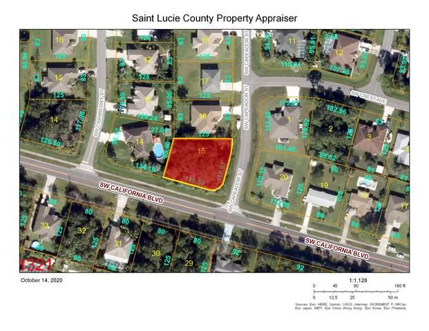1381 SW California Boulevard, Port Saint Lucie, FL 34953 (MLS #RX-10663118) :: Berkshire Hathaway HomeServices EWM Realty