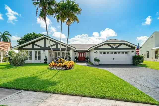 2316 SW 23rd Cranbrook Drive, Boynton Beach, FL 33436 (MLS #RX-10663125) :: Berkshire Hathaway HomeServices EWM Realty