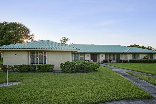 2196 SE Flanders Road, Port Saint Lucie, FL 34952 (MLS #RX-10663315) :: Berkshire Hathaway HomeServices EWM Realty