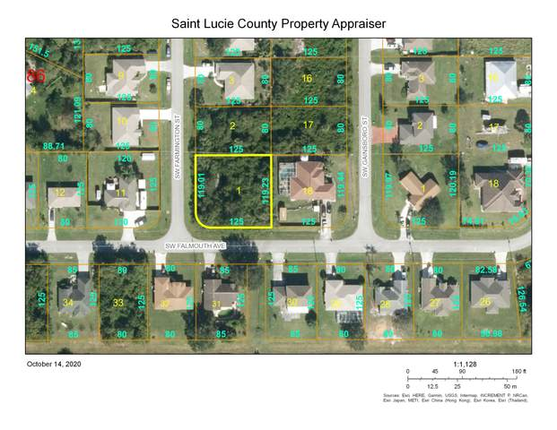 4497 SW Farmington Street, Port Saint Lucie, FL 34953 (MLS #RX-10663322) :: Berkshire Hathaway HomeServices EWM Realty