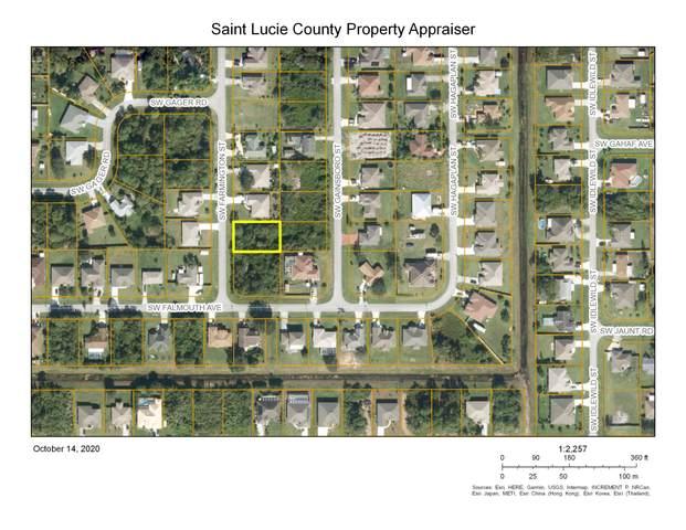4485 SW Farmington Street, Port Saint Lucie, FL 34953 (MLS #RX-10663323) :: Berkshire Hathaway HomeServices EWM Realty