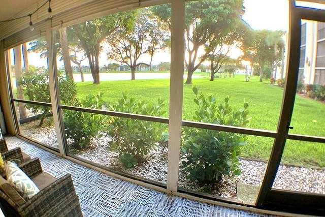 5280 Las Verdes Circle #108, Delray Beach, FL 33484 (MLS #RX-10663433) :: Berkshire Hathaway HomeServices EWM Realty