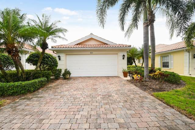 931 Magdalena Road, Palm Beach Gardens, FL 33410 (MLS #RX-10663458) :: Berkshire Hathaway HomeServices EWM Realty
