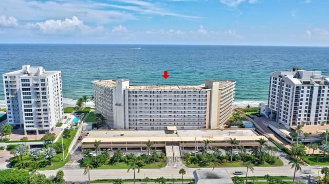 3101 S Ocean Boulevard #324, Highland Beach, FL 33487 (#RX-10663535) :: Posh Properties