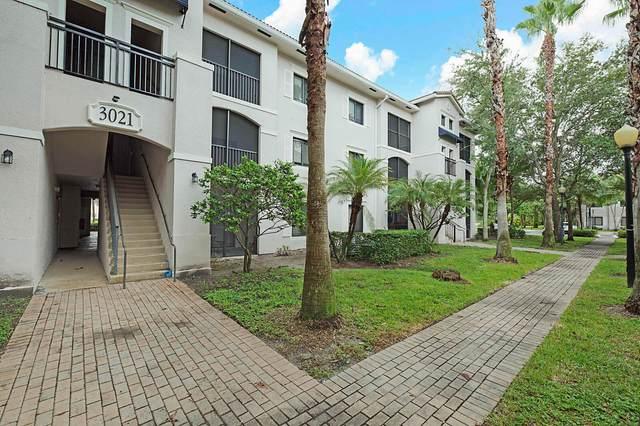3021 Alcazar Place #307, Palm Beach Gardens, FL 33410 (MLS #RX-10663602) :: Berkshire Hathaway HomeServices EWM Realty