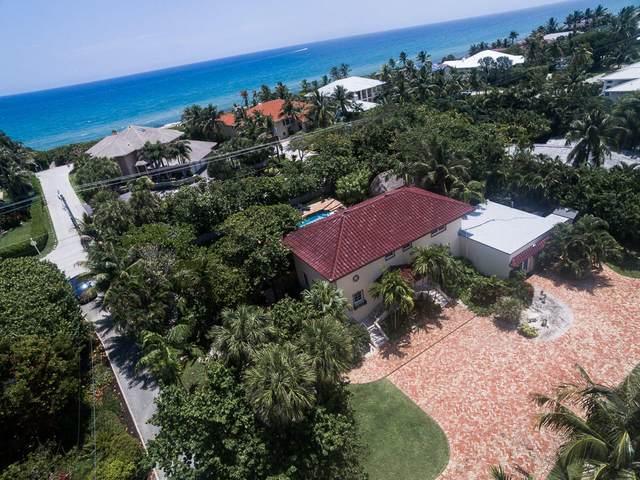 6060 N Ocean Boulevard, Ocean Ridge, FL 33435 (#RX-10663749) :: Posh Properties