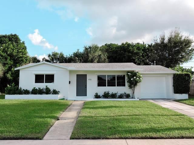 436 Flotilla Road, North Palm Beach, FL 33408 (MLS #RX-10663813) :: Berkshire Hathaway HomeServices EWM Realty