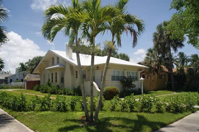 5301 N Flagler Drive, West Palm Beach, FL 33407 (#RX-10663816) :: The Rizzuto Woodman Team