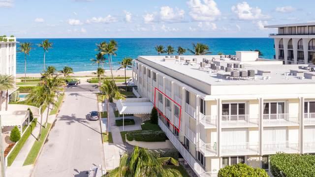 350 S Ocean Boulevard #205, Palm Beach, FL 33480 (#RX-10663989) :: The Power of 2 Group | Century 21 Tenace Realty