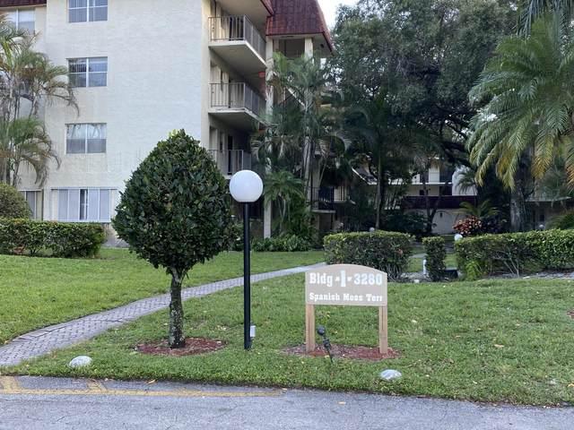 3280 Spanish Moss Terrace #213, Lauderhill, FL 33319 (MLS #RX-10664021) :: Berkshire Hathaway HomeServices EWM Realty