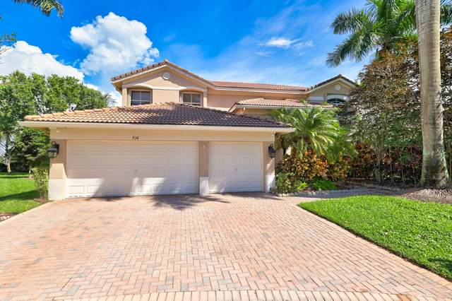 938 Marina Drive, Weston, FL 33327 (MLS #RX-10664095) :: Miami Villa Group