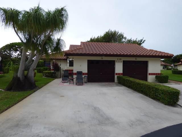 5318 Palmetto Palm Court A, Boynton Beach, FL 33437 (#RX-10664098) :: Posh Properties
