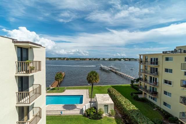 1202 S Lake Drive #505, Lantana, FL 33462 (MLS #RX-10664115) :: Castelli Real Estate Services