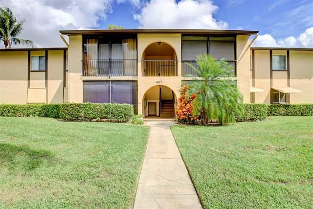 407 Pine Glen Lane D-1, Greenacres, FL 33463 (#RX-10664474) :: Posh Properties