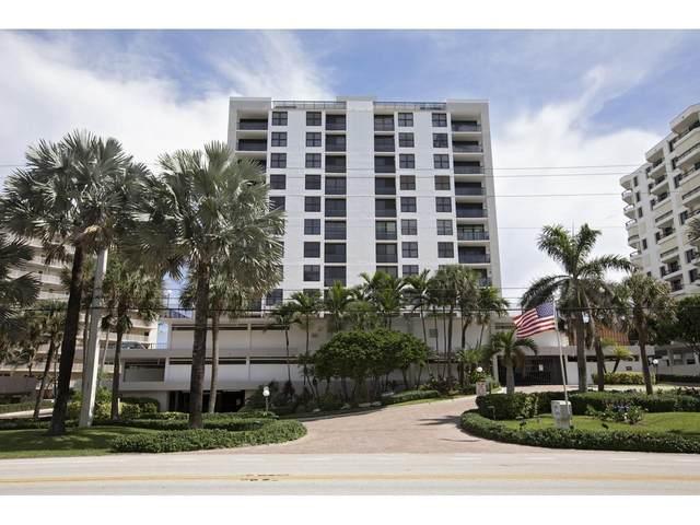 3115 S Ocean Boulevard #802, Highland Beach, FL 33487 (#RX-10664551) :: Posh Properties