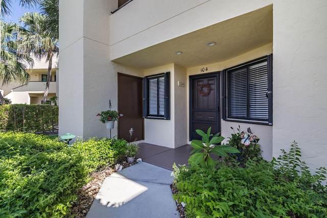 6981 SE Constitution Boulevard #104, Hobe Sound, FL 33455 (#RX-10664580) :: Manes Realty Group