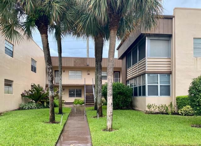 519 Normandy K Lane, Delray Beach, FL 33484 (MLS #RX-10664601) :: Berkshire Hathaway HomeServices EWM Realty