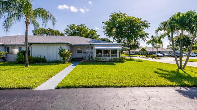 1077 Circle Terrace W D, Delray Beach, FL 33445 (MLS #RX-10664697) :: Berkshire Hathaway HomeServices EWM Realty