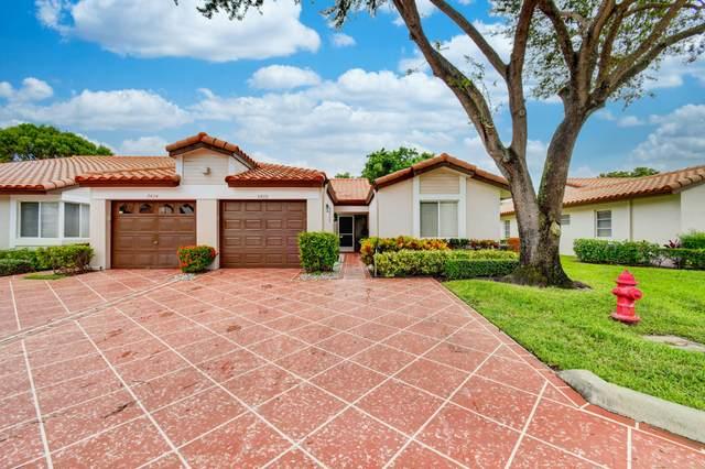 6426 Mill Pointe Circle, Delray Beach, FL 33484 (MLS #RX-10664698) :: Berkshire Hathaway HomeServices EWM Realty