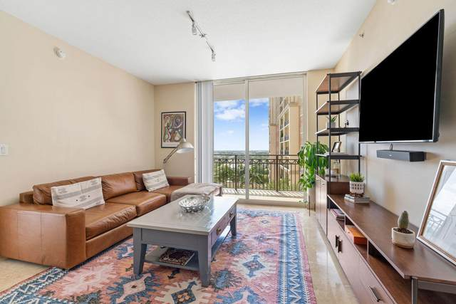 550 Okeechobee Boulevard #1507, West Palm Beach, FL 33401 (MLS #RX-10664779) :: Berkshire Hathaway HomeServices EWM Realty