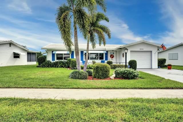 1504 SW 17 Avenue, Boynton Beach, FL 33426 (MLS #RX-10664784) :: Berkshire Hathaway HomeServices EWM Realty