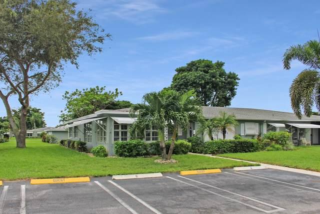 722 South Drive A, Delray Beach, FL 33445 (MLS #RX-10665063) :: Berkshire Hathaway HomeServices EWM Realty