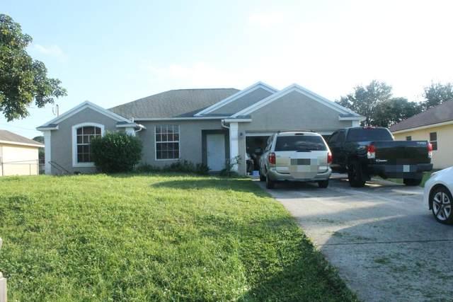 1050 SW Jericho Avenue, Port Saint Lucie, FL 34953 (MLS #RX-10665087) :: United Realty Group