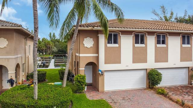 2734 Treasure Cove Circle, Dania Beach, FL 33004 (MLS #RX-10665168) :: Berkshire Hathaway HomeServices EWM Realty