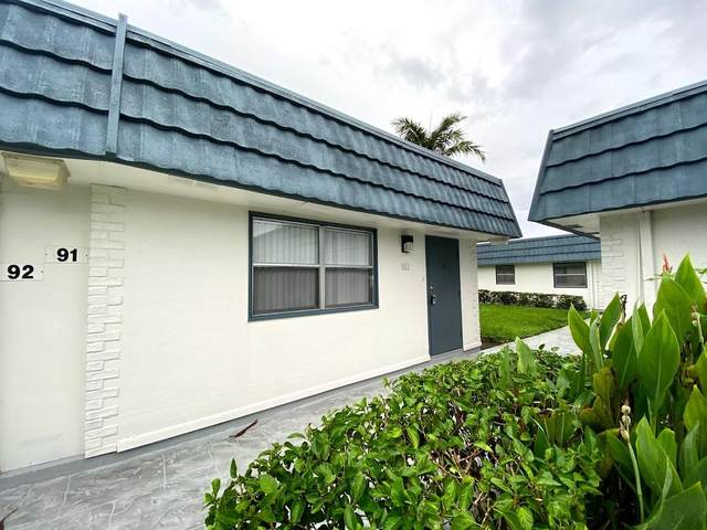91 Waterford D, Delray Beach, FL 33446 (MLS #RX-10665239) :: United Realty Group