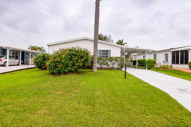 3704 Crabapple Drive, Port Saint Lucie, FL 34952 (MLS #RX-10665245) :: Berkshire Hathaway HomeServices EWM Realty