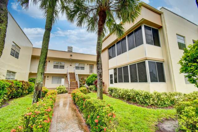 403 Burgundy I, Delray Beach, FL 33484 (MLS #RX-10665290) :: United Realty Group
