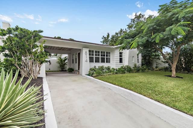 814 Biscayne Drive, West Palm Beach, FL 33401 (MLS #RX-10665362) :: Berkshire Hathaway HomeServices EWM Realty