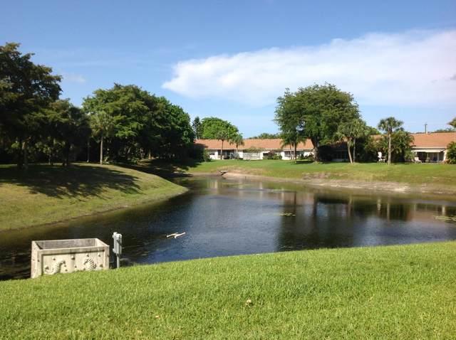 2828 Casita Way 114-C, Delray Beach, FL 33445 (#RX-10665380) :: Treasure Property Group