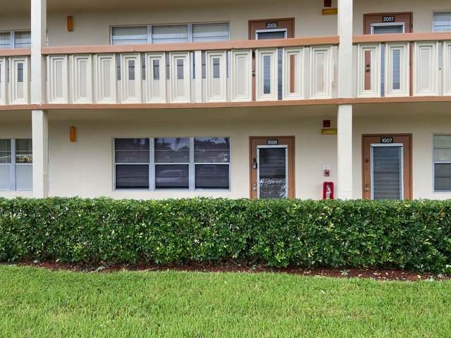 1008 Newcastle A #1008, Boca Raton, FL 33434 (MLS #RX-10665435) :: Castelli Real Estate Services