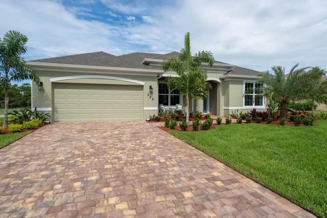435 SW Vista Lake Drive, Port Saint Lucie, FL 34953 (MLS #RX-10665463) :: United Realty Group