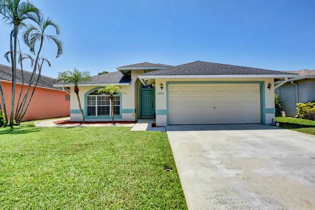 1324 Waterway Cove Drive, Wellington, FL 33414 (MLS #RX-10665541) :: Berkshire Hathaway HomeServices EWM Realty
