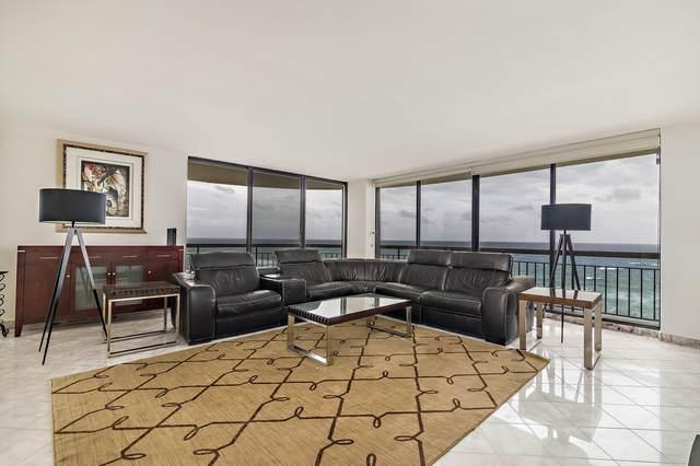 4000 N Ocean Drive #1101, Singer Island, FL 33404 (#RX-10665727) :: Posh Properties