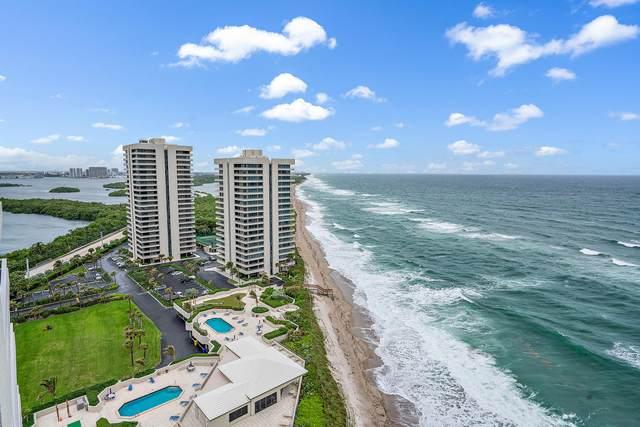 5510 N Ocean Drive 19A, Singer Island, FL 33404 (#RX-10665766) :: Posh Properties
