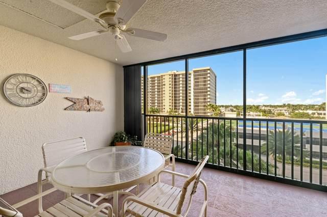 3400 S Ocean Blvd 5I, Highland Beach, FL 33487 (#RX-10665950) :: Posh Properties