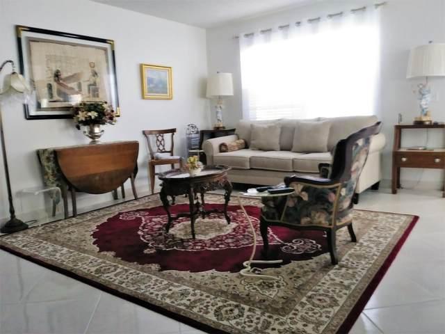 535 Normandy L Lane, Delray Beach, FL 33484 (MLS #RX-10665978) :: Berkshire Hathaway HomeServices EWM Realty