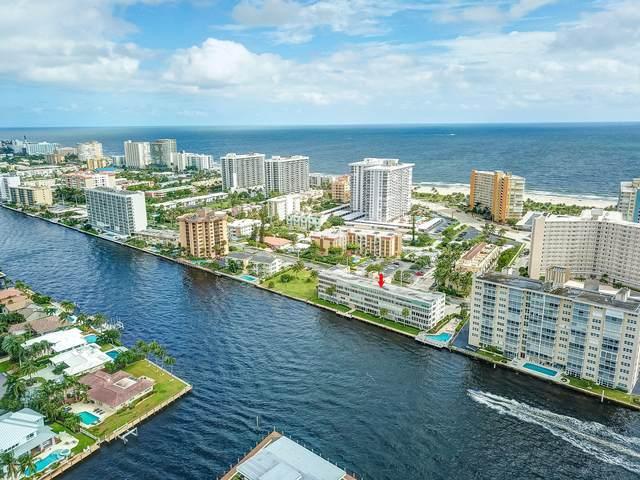 401 N Riverside Drive #306, Pompano Beach, FL 33062 (MLS #RX-10665996) :: Dalton Wade Real Estate Group
