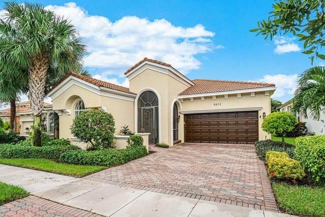 9830 Via Elegante, Wellington, FL 33411 (MLS #RX-10665998) :: Dalton Wade Real Estate Group