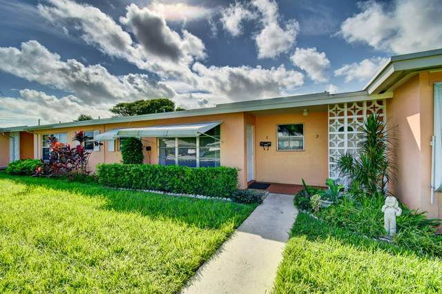 340 Main Boulevard C, Boynton Beach, FL 33435 (MLS #RX-10666019) :: Berkshire Hathaway HomeServices EWM Realty