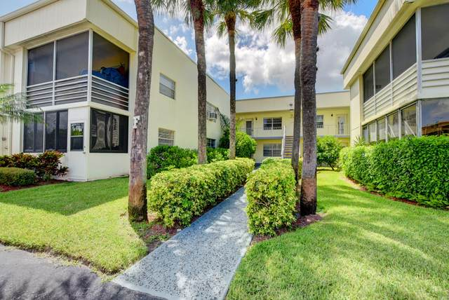 272 Piedmont F #272, Delray Beach, FL 33484 (#RX-10666380) :: The Power of 2 Group | Century 21 Tenace Realty